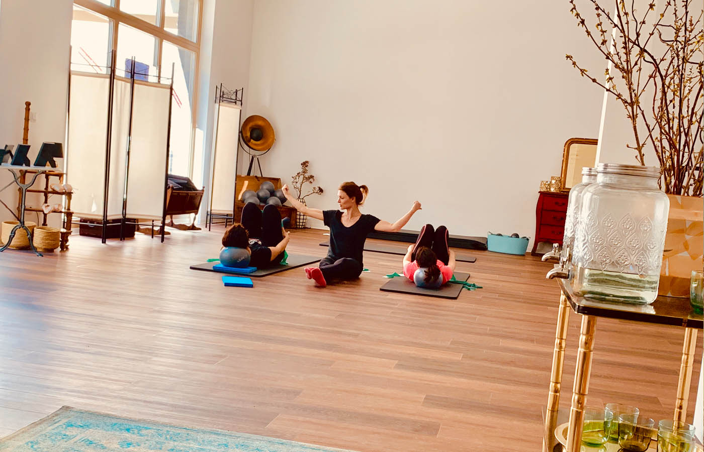 Pilates Movement Berlin Flottwellstr training